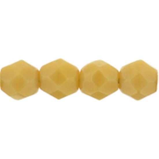 Cseh Csiszolt - 4mm - Dk Ivory - 13040
