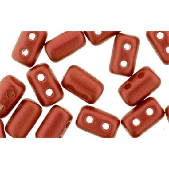 3x5mm Matte - Metallic Lava, Rulla gyöngy