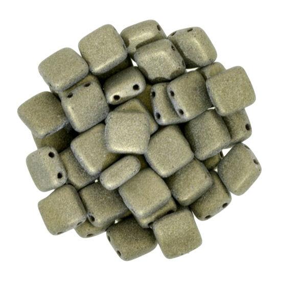 Tile - 6mm - Metallic Suede - Gold - 79080MJT
