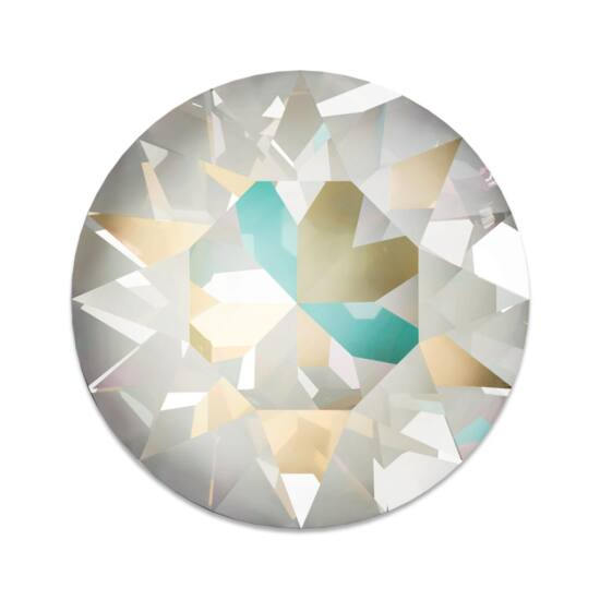 Swarovski Chaton - 1088 - 8MM - CRYSTAL LIGHT GREY DELITE X1